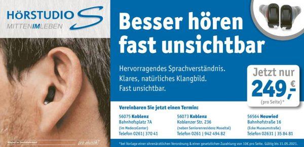Hörgeräteangebot Koblenz und Neuwied